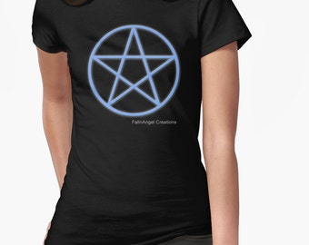Pagan Pentacle T-Shirt - Multiple Sizes & Colors Available!