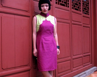 Yun Qipao Purple