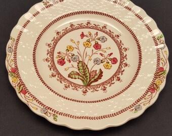 "Vintage Copeland Spode England ""Spode's Cowslip"" Saucer Floral 1950s"