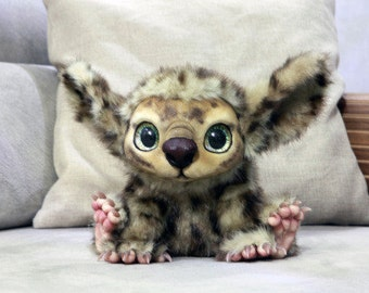 Fantasy creature doll - His name is Booboo (Made to order)