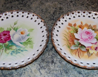 Flowered Wall Plates