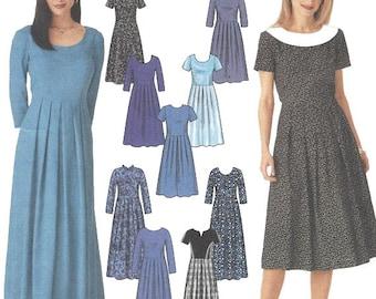 Woman's Dress Sewing Pattern UNCUT Simplicity 9829 Miss Size 6-12