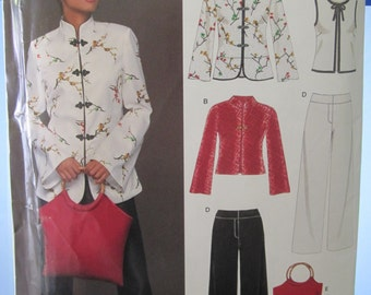 BOSS NEW LOOK 6435 Top pants and purse