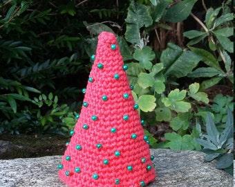 Crocheted Christmas Tree, Christmas Decoration, Alternative Christmas Tree, Funky Christmas Tree, Christmas Tree.