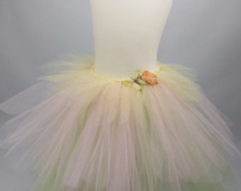 "Girls ""Flower Fairy"" Tutu Skirt"
