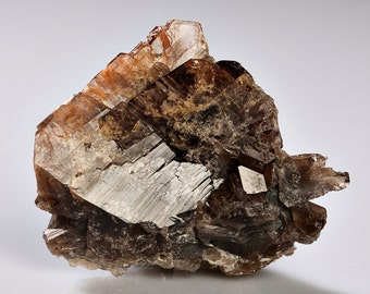 Axinite Crystal Cluster Specimen - from Pakistan!