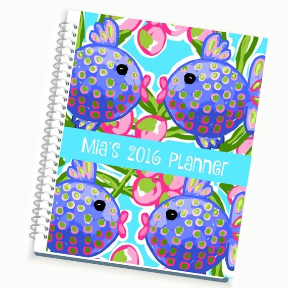 2017 2018 planner daily planner customized weekly planner for Custom photo planner