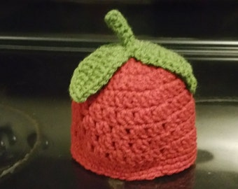 Crochet Apple Child Hat