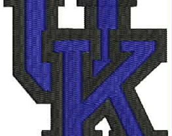 University of Kentucky Embroidery Design