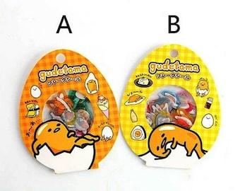 GUDETAMA Lazy Egg Sanrio Character 60pcs Sticker Flakes Sack