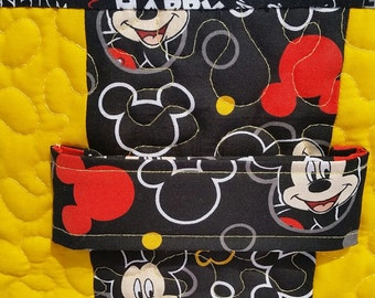 Mickey Mouse Fabric Storage Box | Cube Storage Box | Organizer Bin | Basket |