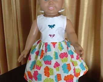 "American Girl /18"" doll's dress"
