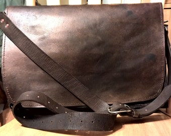 Handcrafted Messenger Bag