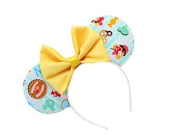 Yellow Sweet Treat Mouse Ears