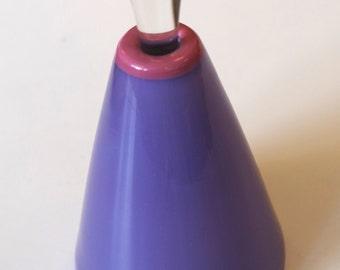 Vintage 1980s Burchetti Glass Perfume Bottle