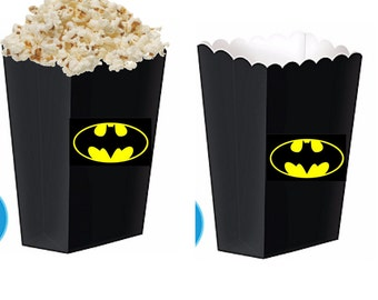 Batman treat boxes