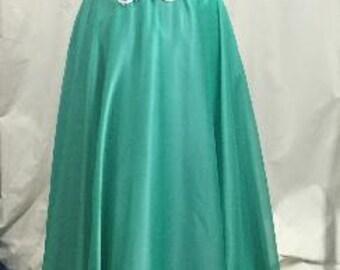 Jade jeweled strapless sweetheart dress