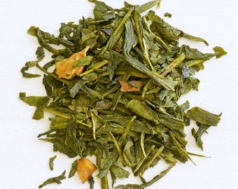 GRANNY SMITH APPLE - Organic Loose Tea, Green Tea, Revitalize & experience hints of sweet caramel