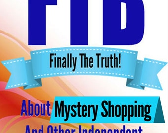 Finally the Truth About Mystery Shopping ebook and starter kit
