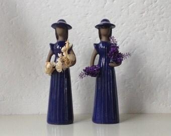 Jie Gantofta Two Figurines Elsi Bourelius Sweden