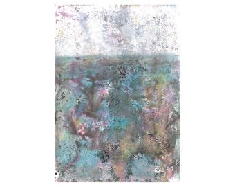 Peinture paysage marin etsy for Peinture chambre pour homme