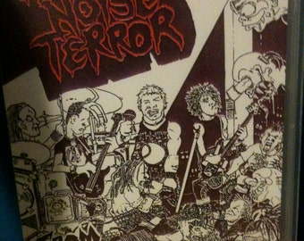 "Extreme Noise Terror 1989 live VHS ""From One Extreme To Another"" / UK Punk / Crust Hardcore / Raw Noise"