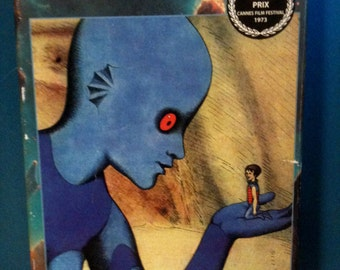 Fantastic Planet / Sci-Fi Animation / Vintage Sci-Fi / Aliens / Psychedelic / Roger Corman / French