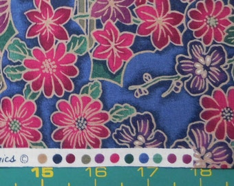 Older Fabric, Out of Print, Wood Blocks by Hoffman International Fabrics, 100 Percent premium cotton, Quilting and apparel fabric