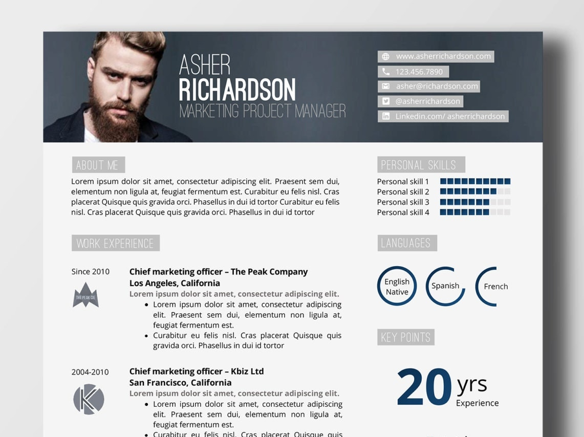 design resume word
