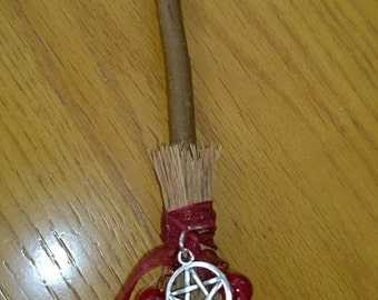 Miniature Hanging Broomstick