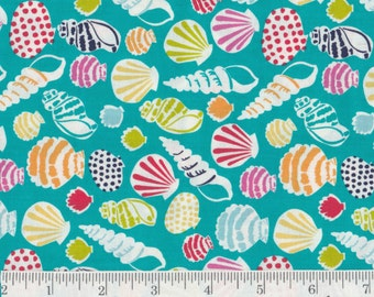 Sun-Sational -Seashells! - Per Yd - Blend Fabrics by Maude Asbury