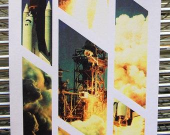 Rocket Launch - A3 Screen Print