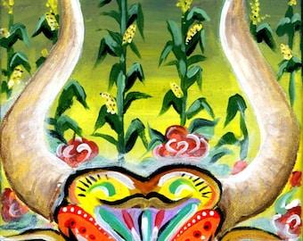 Taurus Painting Print