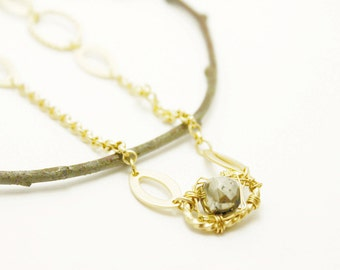 Pyrite Wraps Necklace