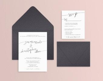 Modern Script Wedding Suite - Set of 25 or Digital