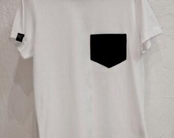 Black and white pocket