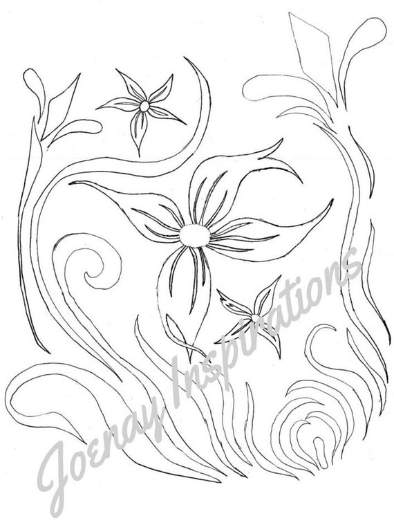 Adult Coloring Book, Printable Coloring Pages, Coloring Pages, Coloring Book for Adults, Instant Download, Fancy Flowers 2 page 13