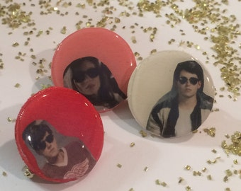 Ferris Bueller's Day Off Squad Pins