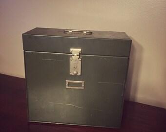 """Vintage Metal File """"My Stong"""" Box"""