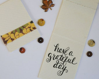Fabric Gift Tags/Mini Notes #2 - Set of 6