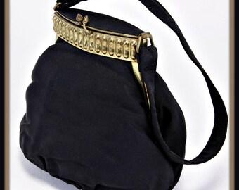 Vintage Evening Bag, Vintage Dorset Rex Evening Bag, Vintage Handbag, Vintage Dorset Rex Handbag, Vintage Dorset Rex Purse, Dorset Rex Bag