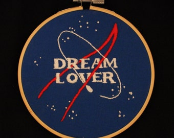 Dream Lover hand embroidery