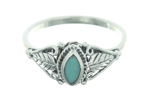 Wild Spirit Turquoise Ring, Sterling Silver Turquoise Ring, 925, Boho, Gypsy, Festival Jewelry, Gemstone, Southwestern