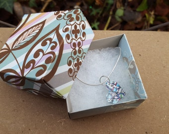 Heart Map Necklace