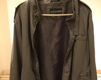 Rare vintage Member's Only grey jacket