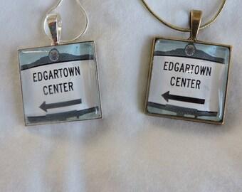 Martha's Vineyard Pendants - Town Signs
