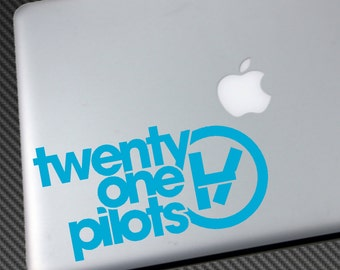TWENTY ONE PILOTS Vinyl Decal Car Sticker macbook laptop shirt cd hat 21 poster