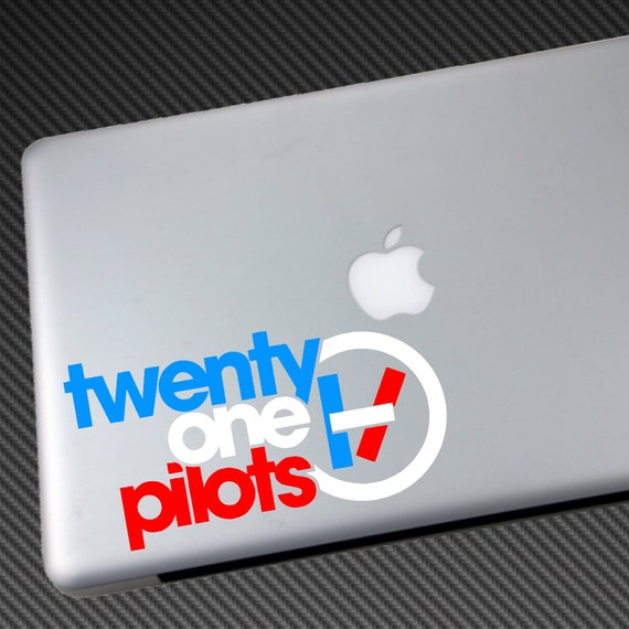 Twenty One Pilots 3 Color Vinyl Decal Car Sticker By Jmkdecals