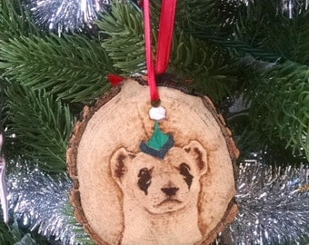 Ornament - Black-Footed Ferret