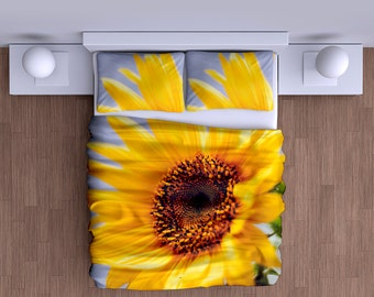 Sunflower Duvet Cover - Super Soft Duvet